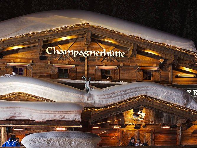Die Champagnerhütte - Après Ski und Party Hütte in Ischgl