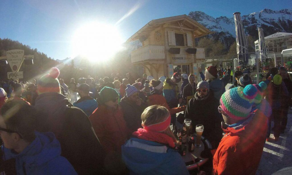 Paznauner Taja in der Sonne- Party in Apres Ski Ischgl